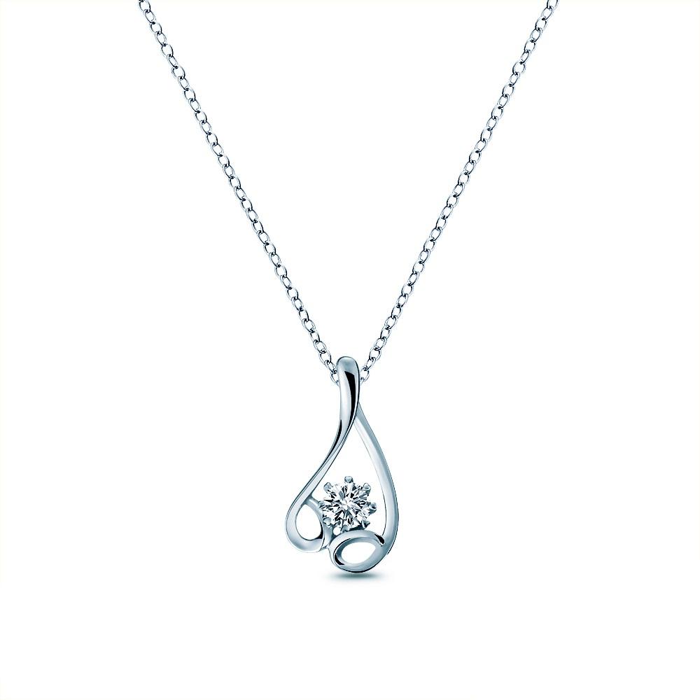 Alesai 艾尼希亞鑽石 30分 鑽石項鍊 3選1 (日本輕珠寶10K系列) (APF28)