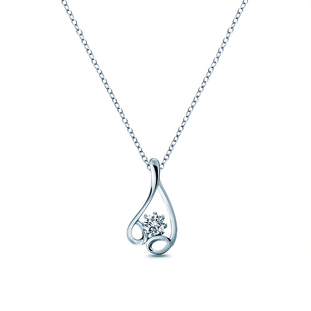 Alesai 艾尼希亞鑽石 30分 14K 鑽石項鍊 (3選1) (APF28)