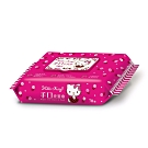 Sanrio 三麗鷗 Hello Kitty 凱蒂貓 手口加蓋濕紙巾 70抽X12包/組