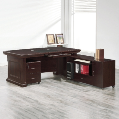 AS-西莉亞6尺L型辦公桌-181x213.5x77cm