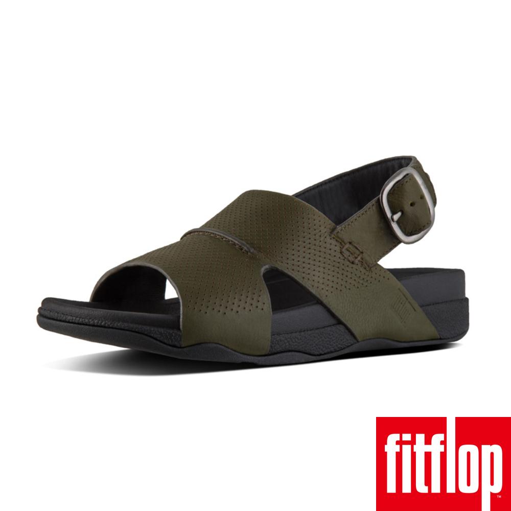 FitFlop BANDO TM BACK-STRAP SANDALS 迷彩綠