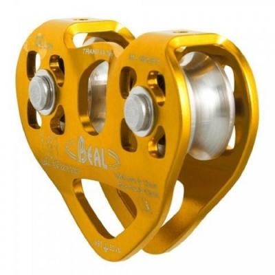Beal Transf air Twin B 雙滑輪(滾珠承軸) 適用鋼索、繩索 MPTB
