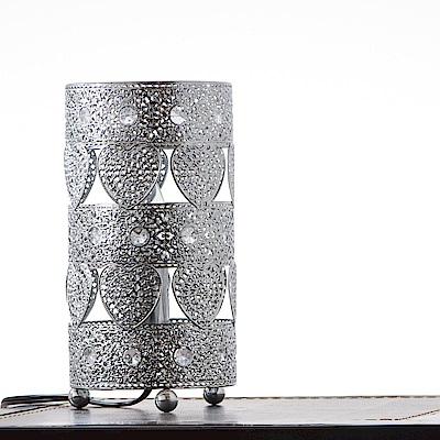 bnatural 鍍鉻心形桌燈BNL00035