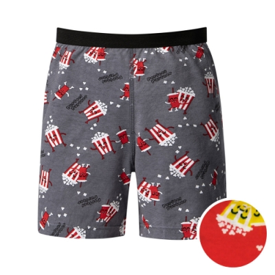 DADADO 最佳搭檔 110-130男童內褲(紅) 品牌推薦 舒適寬鬆 四角男褲