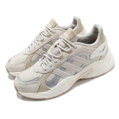 adidas 休閒鞋 Crazychaos Shadow 男鞋 愛迪達 三線 復古 微增高 麂皮 穿搭 灰 黃褐 FX9104