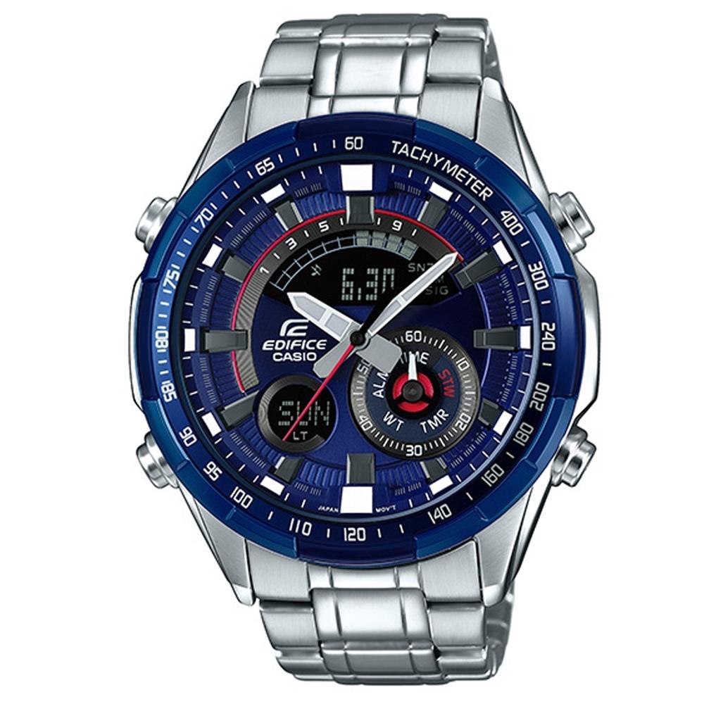 CASIO EDIFICE科技運動風多層次賽車腕錶 EFR-600RR