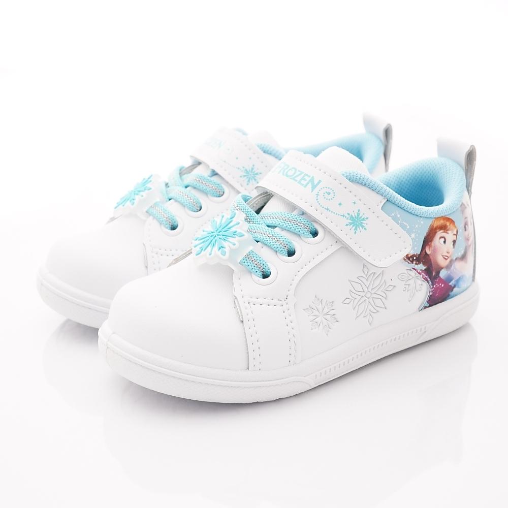 迪士尼童鞋 冰雪奇緣甜美運動鞋款 NI4206白藍(中小童段)