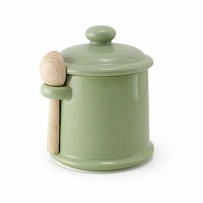 ZERO JAPAN 陶瓷儲物罐(大地綠)300ml