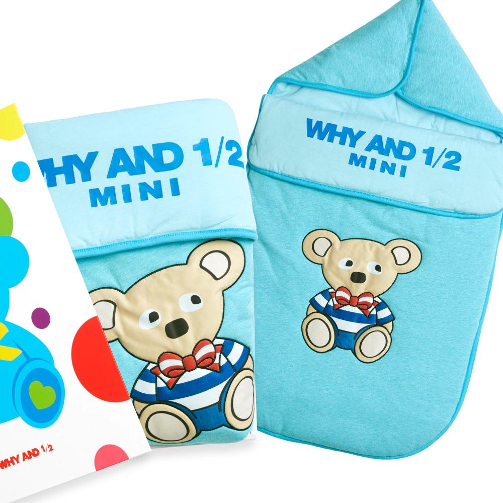 WHY AND 1/2 mini 鋪棉睡袋禮盒