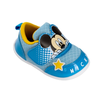 迪士尼童鞋  米奇 躲貓貓造型休閒童鞋-藍
