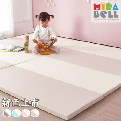 【韓國 MIRABELL】 兒童4cm摺疊地墊-四款任選 (四折折疊地墊/遊戲墊/爬行墊)