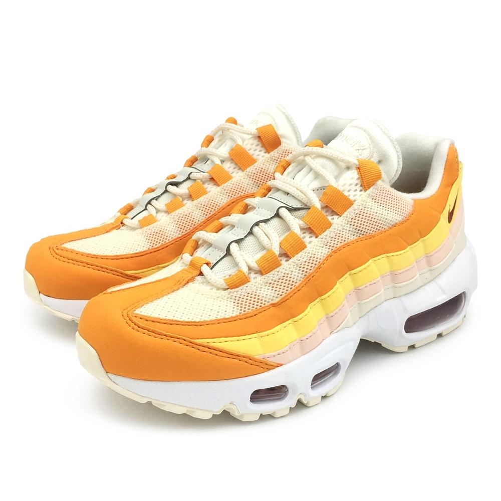 Nike AIR MAX 95 慢跑鞋 中 米黃