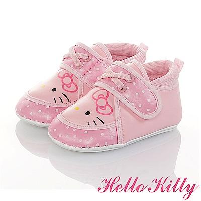 HelloKitty 點點系列 輕量柔軟減壓寶寶學步童鞋-粉