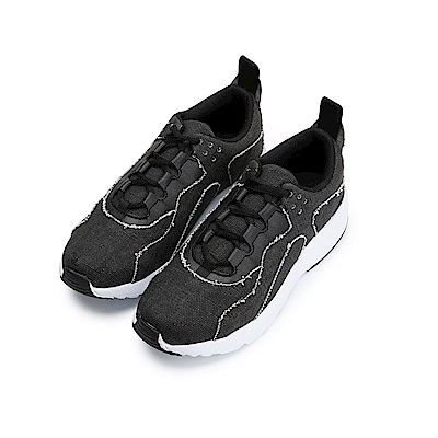 BuyGlasses 歐美拚色縫線運動鞋-黑
