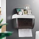 多功能防水面紙盒 下抽式衛生紙架 壁掛式紙巾盒 置物收納架