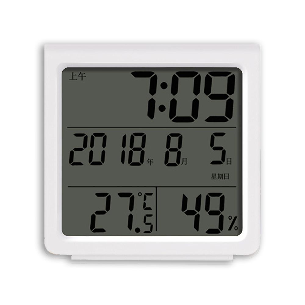 RITERS 多功能溫/濕度計時鐘(RT-S8)
