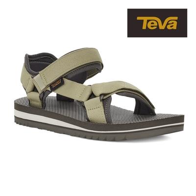 【TEVA】原廠貨 女 Universal Trail 多功能經典運動涼鞋/雨鞋/水鞋(鼠尾草綠-TV1107709SGRN)