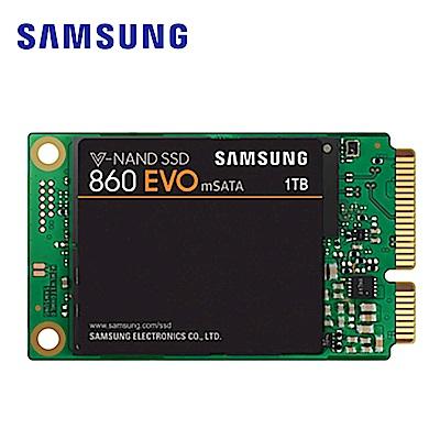 Samsung 860 EVO mSATA 1TB SSD固態硬碟