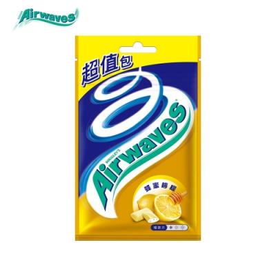 Airwaves 蜂蜜檸檬超涼無糖口香糖(44粒超值包)