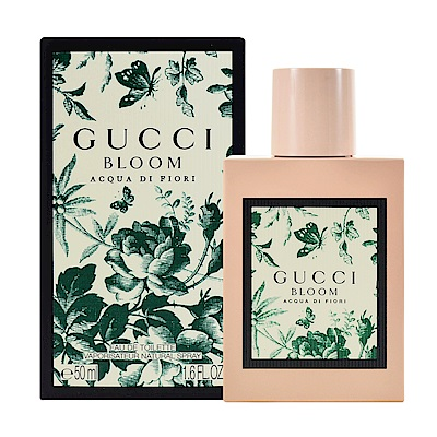 Gucci Bloom Acqua Di Fiori繁花之水女性淡香水50ml