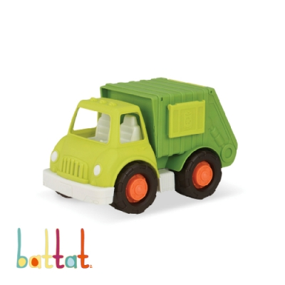 美國【B.Toys】Wonder Wheels系列-愛乾淨回收車玩具
