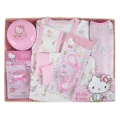 【三麗鷗SANRIO】KITTY 凱蒂貓歡樂童伴寶貝禮盒組