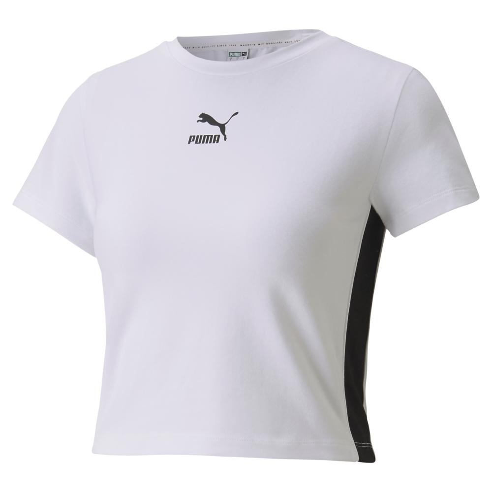 【PUMA官方旗艦】流行系列Classics短袖T恤 女性 59763102