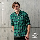 ROUSH (Slim Fit)法蘭絨格紋襯衫(2色)