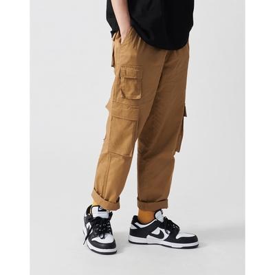 NAVY-工裝口袋長褲(三色)-情侶款-男【C1NA007】