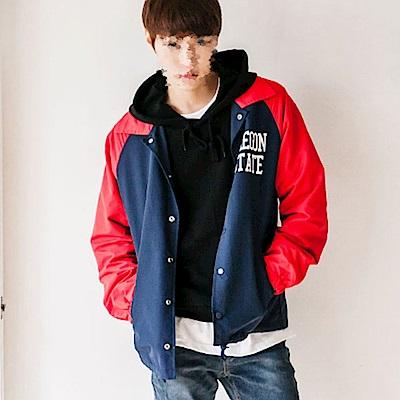 BuyGlasses 韓國文字風衣夾克外套