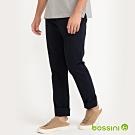 bossini男裝-彈性長褲01黑