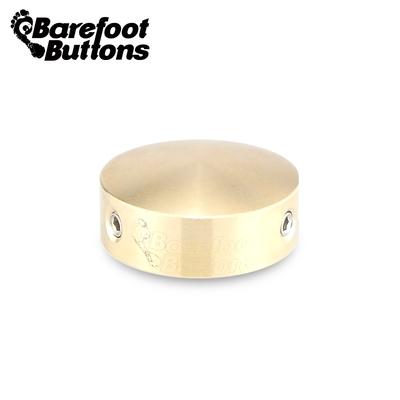 Barefoot V1 STD Brass 航太級鋁合金踩釘帽 黃銅款