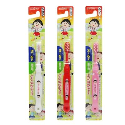 日式卡通兒童牙刷-小丸子/KT-3~6才-6入組