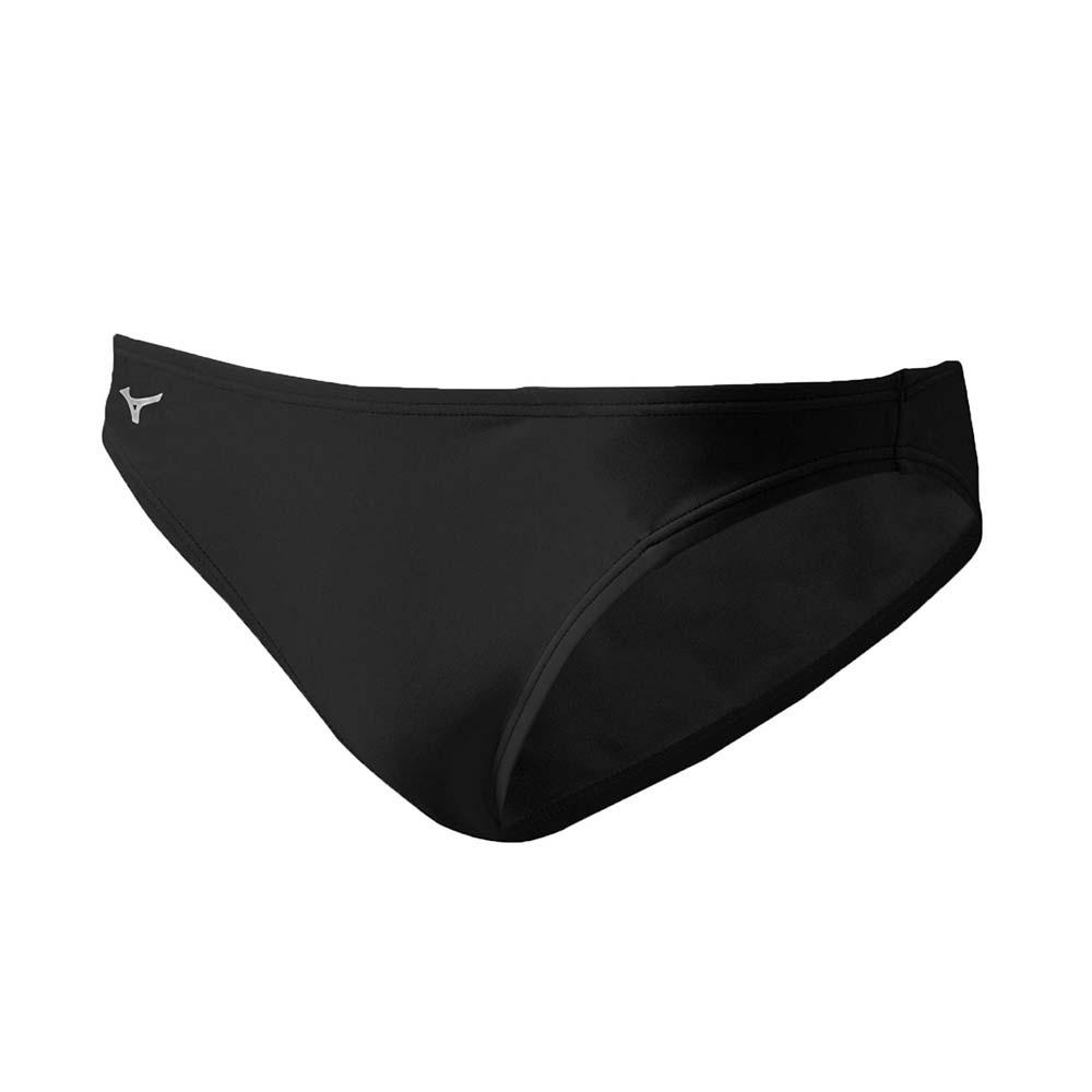 MIZUNO 男 BASIC三角泳褲 黑白