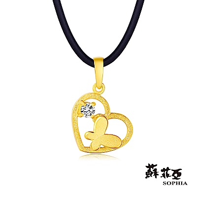 蘇菲亞SOPHIA - Gold Shine系列相隨黃金項鍊