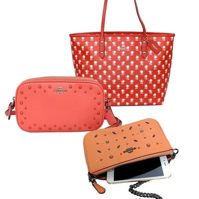 [時時樂] COACH 秋日蜜橘/暖黃色系包款均一價3211元