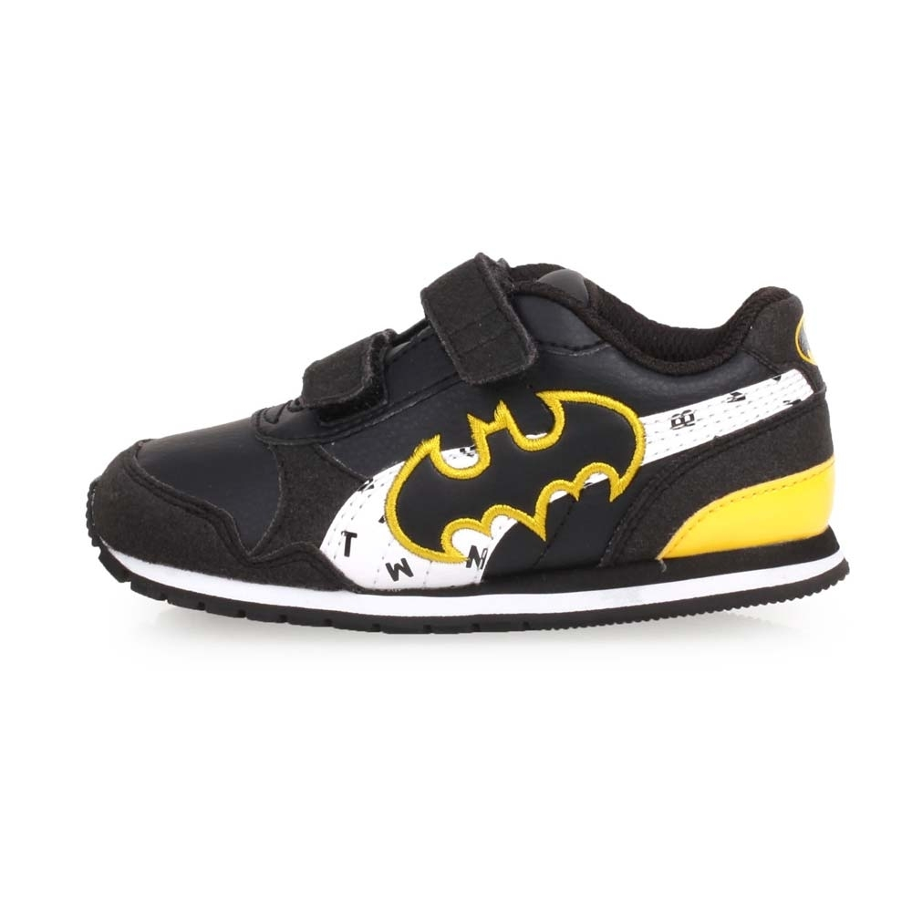 PUMA JL ST RUNNER V2 男兒童正義聯盟休閒運動鞋 黑白黃