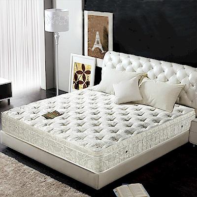 AVIS艾維斯 五星級加厚緹花舒柔三線獨立筒床墊-雙人加大6尺