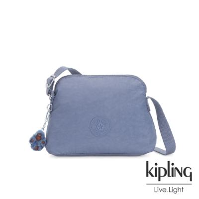 Kipling 氣質粉嫩藍隨身斜背包-DIEP