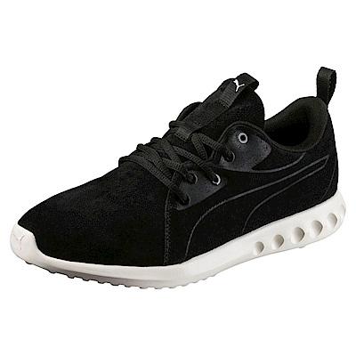 PUMA-Carson2MoldedSuede男女慢跑運動鞋-黑色