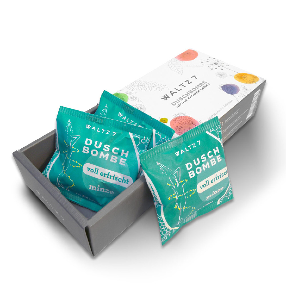 華爾滋7號淋浴SPA香氛錠-沁涼薄荷(3入禮盒組)COACH