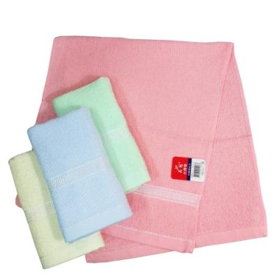 (12入) 彩緞檔毛巾-1096/堤緞毛巾-1097