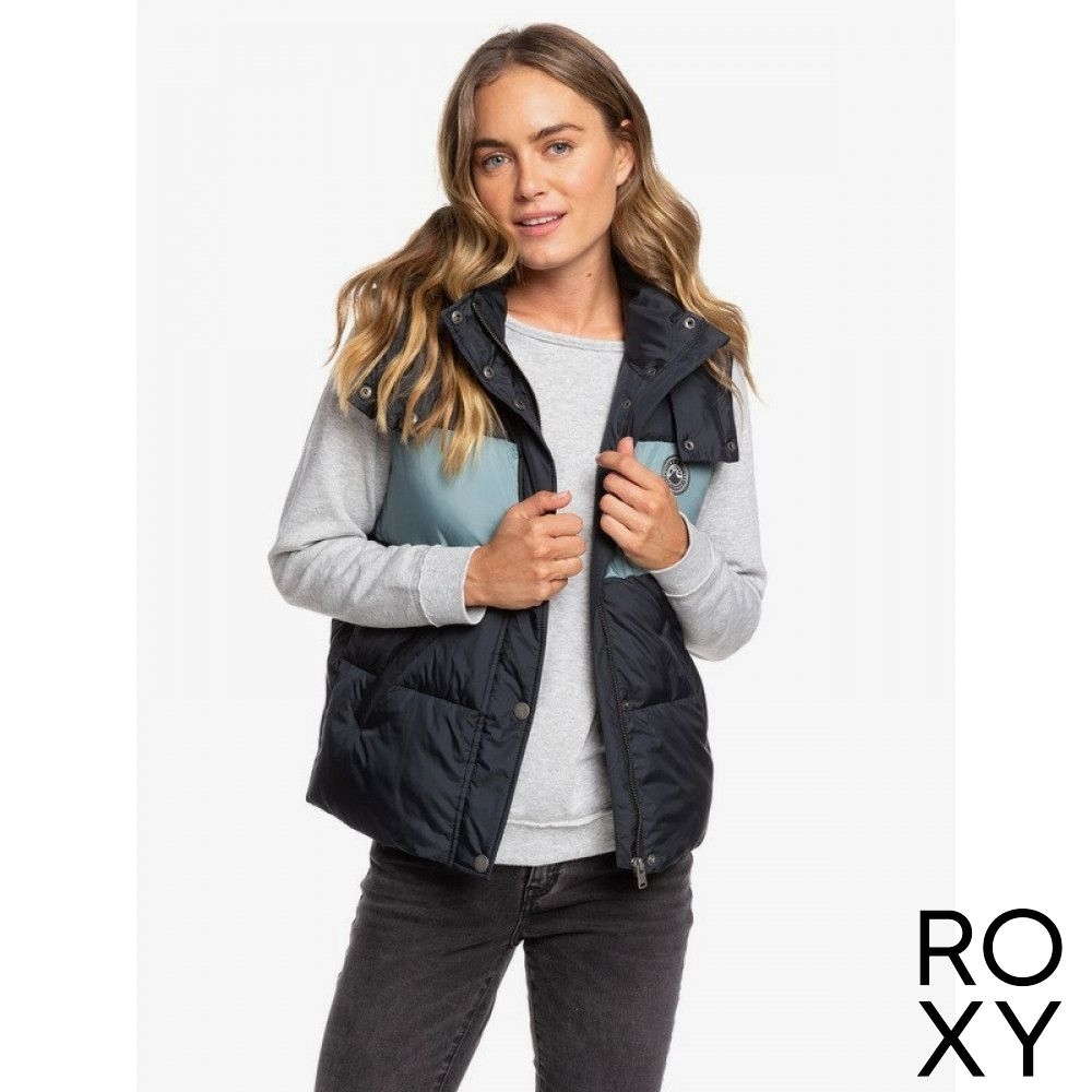 【ROXY】OUT OF FOCUS VEST 鋪棉背心 黑