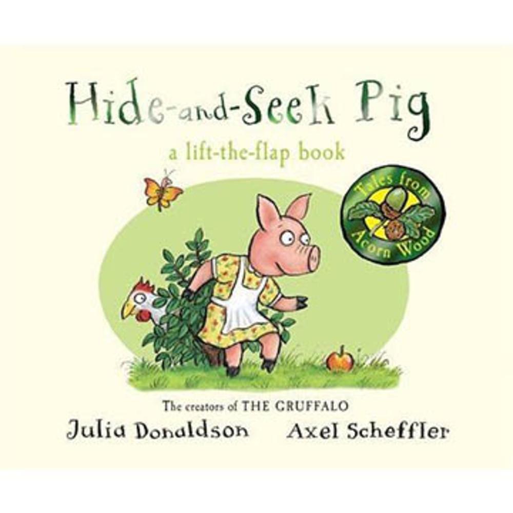 Tales From Acorn Wood:Hide-And-Seek Pig 硬頁翻翻書