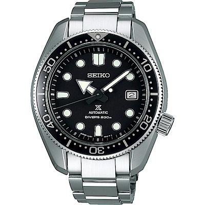 SEIKO精工Prospex SCUBA廣告200米機械錶SPB077J1-黑/44mm