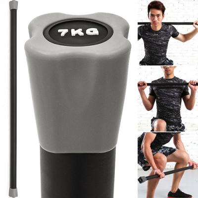 BODY BAR有氧健身7KG體操棒 (長桿120CM跳操平衡棒/重量棒形體棒韻律棒/塑形棍塑身棍7公斤)