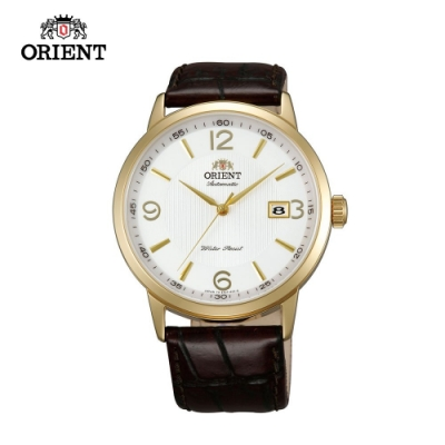 ORIENT 東方錶DATE系列 日期顯示功能機械錶 皮帶款 FER27004W - 41mm