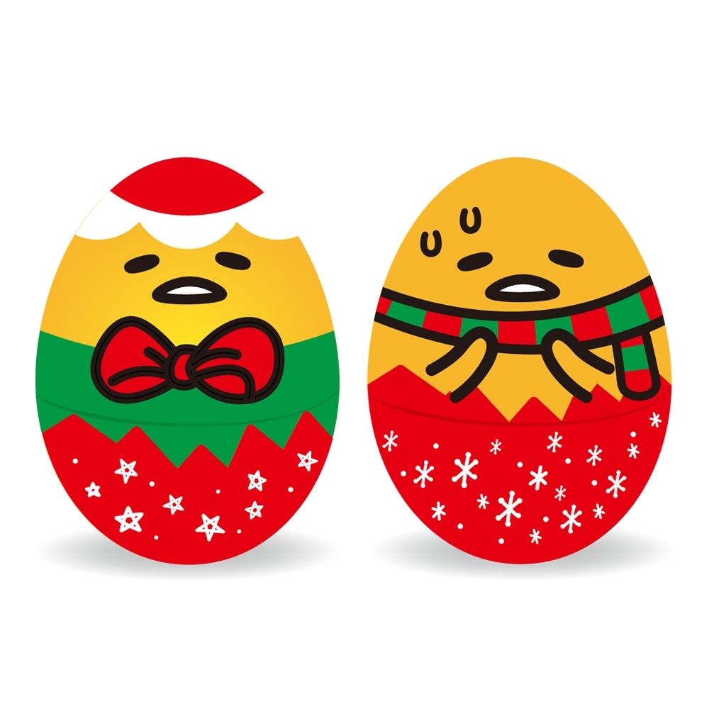 巧趣多蛋黃哥巧克力糖造型蛋-聖誕節(2入組)