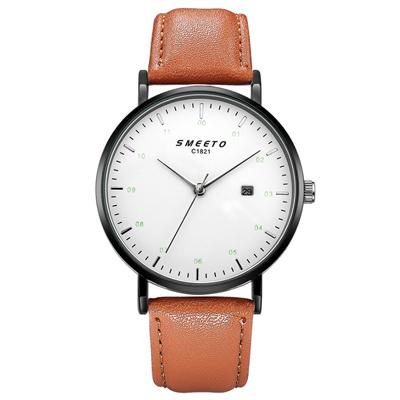Watch-123 掌控時間潮流有范日曆手錶 (4色任選)