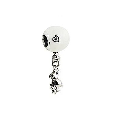 Pandora 白氣球和泰迪熊垂飾